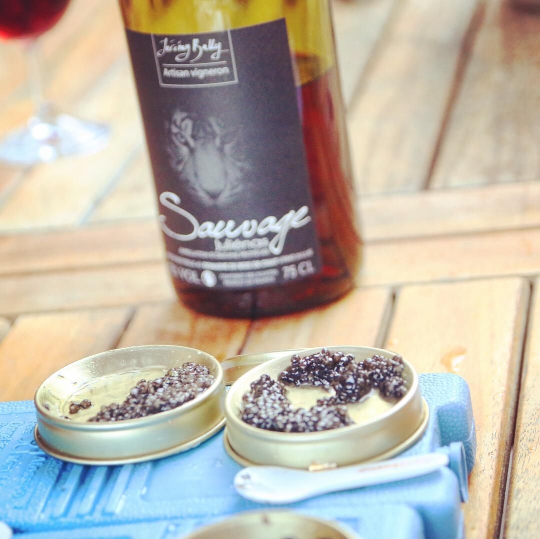 Soirée golf, caviar et Beaujolais